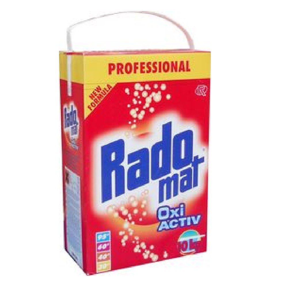 lessive en poudre tous textiles radomat baril 10 kg 9002023000846. Black Bedroom Furniture Sets. Home Design Ideas