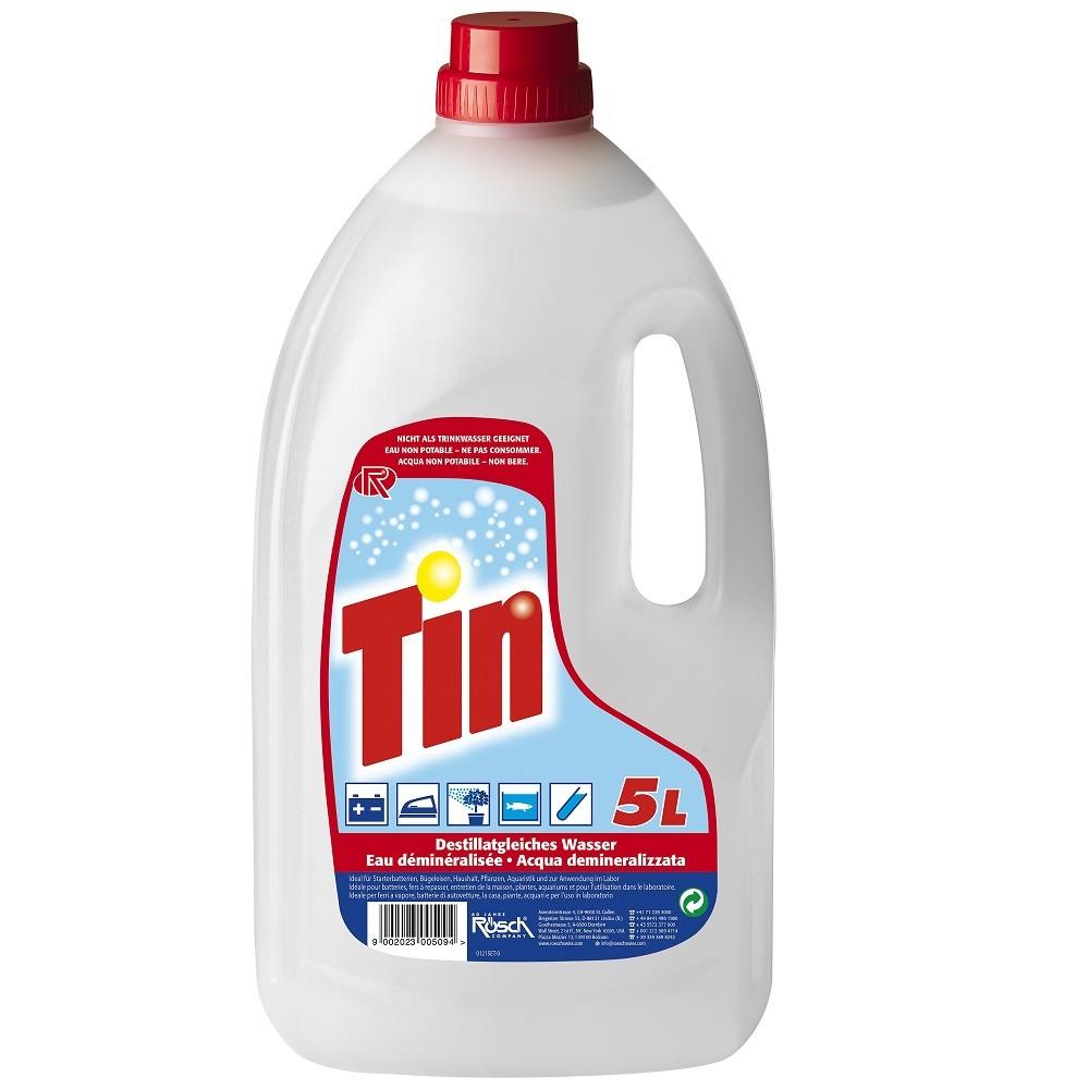 Tin Eau Distillée 5l